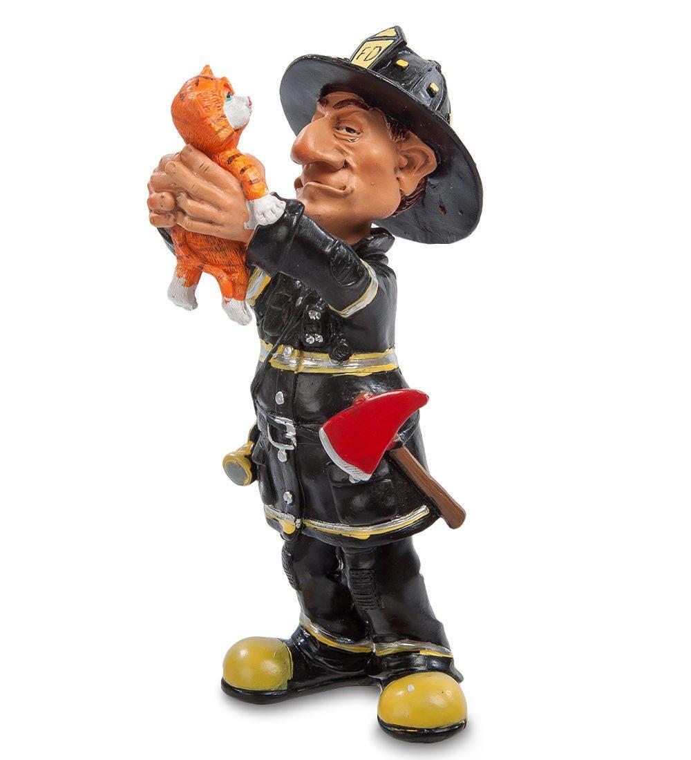 Пожарный фигурка своими руками